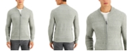 Tasso Elba Men's Luxe Zip-Front Sweater, Created for Macy's