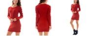 BCX Juniors' Ribbed Sweater Dress