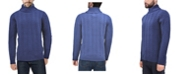 X-Ray  Men's Cable Knit Roll Neck Sweater