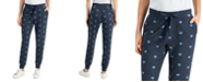 Style & Co Heart-Print Jogger Pants, Created for Macy's