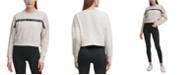 Calvin Klein Outline Logo Tape Sweatshirt