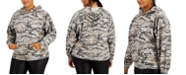 FULL CIRCLE TRENDS Trendy Plus Size Distressed Hoodie