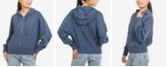 Hippie Rose Juniors' Zip-Front Hoodie Sweatshirt