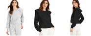 INC International Concepts INC Ruffled Sweatshirt, Created for Macy's