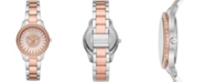 Michael Kors Women's Layton Three-Hand Two-Tone Stainless Steel Bracelet Watch 33mm