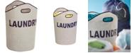 Honey Can Do Honey-Can-Do Gray Laundry Tote