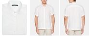 Perry Ellis Men's Linen Short-Sleeve Button-Front Shirt