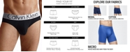 Calvin Klein Men's Underwear, Steel Micro Hip Brief U2715