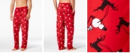 Club Room Men's Snowman-Print Pajama Pants, Created for Macy's