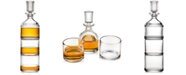 Godinger Duet Stackable Decanter with 2 Glasses