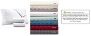 AQ Textiles Bergen Stripe 4-Pc. Queen Extra-Deep Sheet Set, 1000 Thread Count 100% Certified Egyptian Cotton