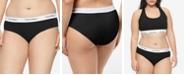 Calvin Klein Plus Size Modern Cotton Logo Hipster Underwear QF5118
