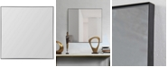 Furniture Greer Medium Square Mirror, Quick Ship