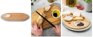BergHOFF Leo Collection 2-sided Bamboo Tapas Cutting Board with Tray