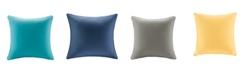 """Madison Park Pacifica 20"""" x 20"""" Solid 3M Scotchgard Outdoor Square Pillow"""