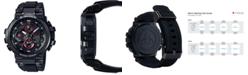 G-Shock Men's Solar Analog-Digital Black Resin Strap Watch 51.7mm