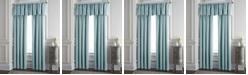 "Colcha Linens Cambric Aqua Lined Drapery Panel 52""x84"" - Each"