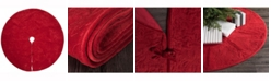 Vickerman Elegant Cotton Velvet With Embroidered Quilted Design