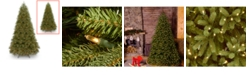 National Tree Company National Tree 10' Feel Real Jersey Fraser Fir Medium Tree with 2000 Dual Color LED lights