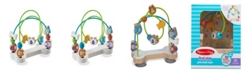 Melissa and Doug Melissa & Doug First Play Pets Wooden Bead Maze with Suction Cups For Babies and Toddlers