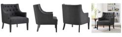 Modway Regard Wood Armchair in Gray