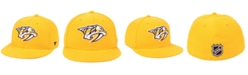 Authentic NHL Headwear Nashville Predators Basic Fan Fitted Cap