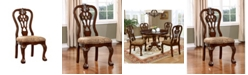 Furniture of America Wilson Brown Cherry Dining Chair (Set of 2)