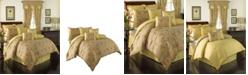 Waverly Swept Away 4 Piece Queen Comforter Set