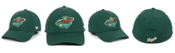 Authentic NHL Headwear Minnesota Wild Basic Flex Stretch Fitted Cap