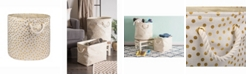 Design Imports Design Import Storage Bin Dots, Round