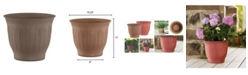 "Bloem Colonnade 12"" Wood Resin Planter"