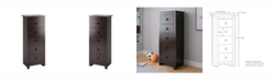 CorLiving Madison Tall Chest of Drawers