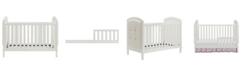 Baby Relax  Alena Convertible Crib and Guard Rail
