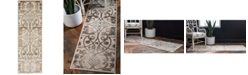 Bridgeport Home Marshall Mar6 Dark Beige 2' x 6' Runner Area Rug