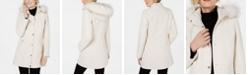 INC International Concepts INC Faux-Fur-Trim Hooded Coat, Created for Macys