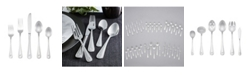 RiverRidge Home Riverridge Marina 46 Piece Monogrammed Flatware Set - F, Service for 8