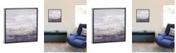 "iCanvas Amethyst Glitter Ii by Jennifer Goldberger Gallery-Wrapped Canvas Print - 37"" x 37"" x 0.75"""
