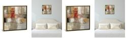 "iCanvas Trajectory by Silvia Vassileva Gallery-Wrapped Canvas Print - 18"" x 18"" x 0.75"""