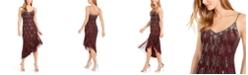 Adrianna Papell Beaded Asymmetrical Dress