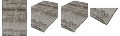 """D Style CLOSEOUT! Logan Lo8 Pewter 7'10"""" x 10'7"""" Area Rugs"""
