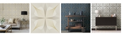 "A-Street Prints 20.5"" x 396"" Radius Geometric Wallpaper"