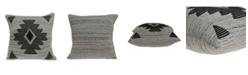 Parkland Collection Shosa Southwest Grey Pillow Cover