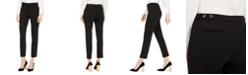 Calvin Klein Petite Highline Slim-Leg Ankle Dress Pants