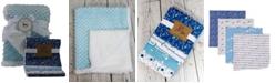 Tendertyme 3 Stories Trading Popcorn Sherpa Galaxy Baby Blanket Gift Set