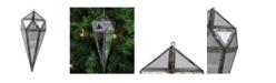 "Northlight 10.5"" Geometric Drop Christmas Ornament Decoration"