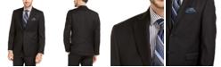 Lauren Ralph Lauren Men's Slim-Fit UltraFlex Stretch Black Solid Suit Jacket