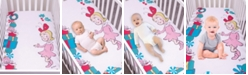 Trend Lab Cindy Lou Who Flannel Photo Op Crib Sheet