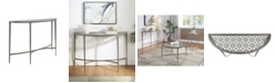 Furniture of America Porcelain Steel Frame Sofa Table
