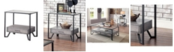 Furniture of America Shirin 1-Drawer End Table