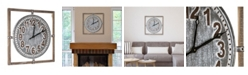 Crystal Art Gallery American Art Decor Wood Framed Wall Clock